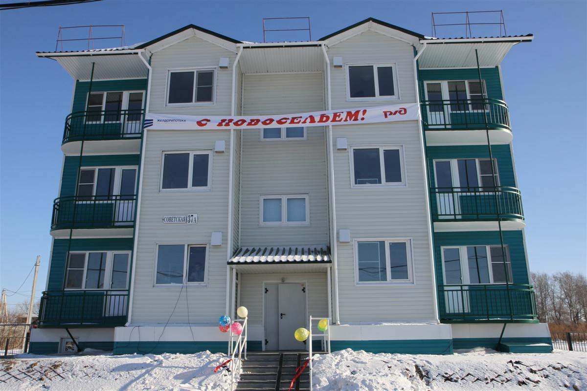 9-квартирный жилой дом, п. Волочаевка-2